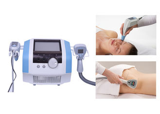 Body Contouring Cavitation Rf Slimming Machine 3.2mhz With Face Rejuvenation Handle